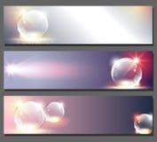 Wavy mönstrar på mörkerbakgrund med ljust verkställer Arkivbild