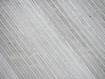 Wavy metallic roof Royalty Free Stock Images