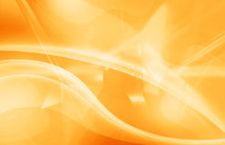 Wavy Orange Background Royalty Free Stock Photos