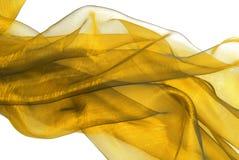 Wavy organza fabric. Closeup of the wavy organza fabric Stock Images