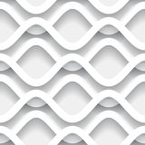 Wavy paper pattern Stock Images