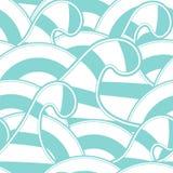 Wavy pattern vector illustration