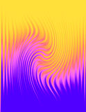 Wavy patterned abstract background Stock Photography