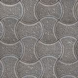 Wavy Paving Slabs. Seamless Tileable Texture. Royalty Free Stock Image