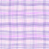 Wavy plaid texture Stock Image