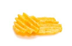 Wavy potato chips Royalty Free Stock Photos