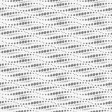 Wavy repeating dots pattern. Seamless. Royalty Free Stock Photo