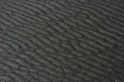 Wavy sand Stock Images