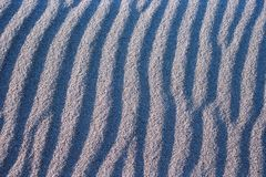 Wavy sand Royalty Free Stock Image
