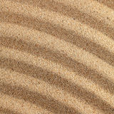 Wavy sand surface. Royalty Free Stock Image