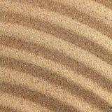 wavy sand surface. Royalty Free Stock Image