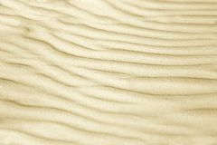 Wavy sand. Wavy sand texture for background Royalty Free Stock Photo
