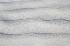 Wavy sand. Wavy sand texture for background Royalty Free Stock Photography