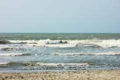 Wavy sea Stock Photos