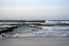 Wavy Sea Stock Photo