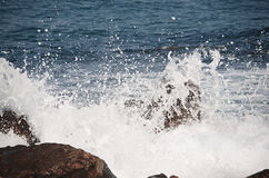 Wavy Sea Stock Photo