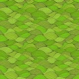 Wavy seamless pattern Royalty Free Stock Image