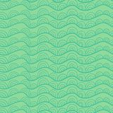 Wavy seamless pattern Royalty Free Stock Photography