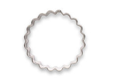 Wavy shaped cookie cutter Stock Images