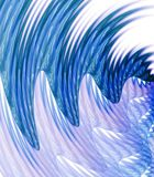 Wavy Streaks Abstract Royalty Free Stock Photo