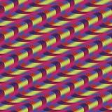 Wavy stripes Stock Image