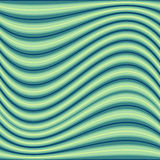 Wavy  stripes colorful bright fresh vector Stock Image