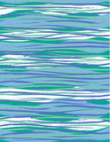 Wavy Stripes_Deep Surf Royalty Free Stock Photos