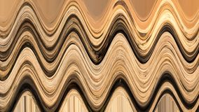 Wavy stripes pattern. Horizontal curvy lines Royalty Free Stock Images