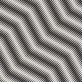 Wavy stripes vector seamless pattern. Retro wavy engraving texture. Geometric lines design. Wavy stripes vector seamless pattern. Retro wavy engraving texture royalty free illustration