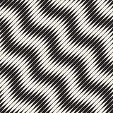 Wavy stripes vector seamless pattern. Retro wavy engraving texture. Geometric lines design. Wavy stripes vector seamless pattern. Retro wavy engraving texture stock illustration