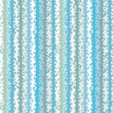 Wavy strips seamless pattern Royalty Free Stock Image