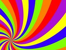 Wavy swirl background Stock Image