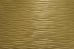 Wavy textured wall Stock Photos