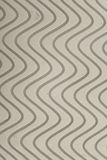 Wavy thread. Wavy tread on the sole of a basketball shoe Stock Images