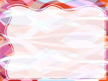 Wavy transparent retro slide background Royalty Free Stock Photo