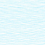 Wavy vector background. Light horizontal wave striped texture Stock Photography