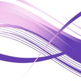 Wavy violet lines. Abstract background. Ready template for your design. Wavy violet lines. Abstract background. Ready template for your design Stock Illustration