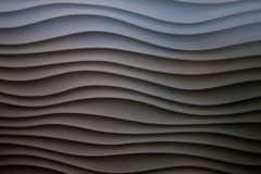 Wavy Wall. Found in a pearl jewelry store, the wavy texture depicts the water where pearl is found. Also, makes a great background Stock Image