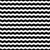 Wavy Zigzag Lines Seamless Pattern. Distorted Lines Texture. Stock Photo