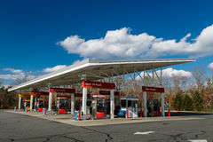 Wawa bensinstation arkivfoton