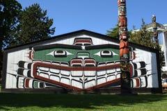 WawadiÅ¥Åa, museu real do Columbia Britânica Imagem de Stock Royalty Free
