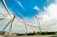 wawasan桥梁的seri 库存图片