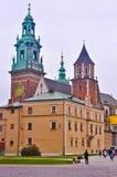 Wawel城堡在克拉科夫 免版税库存图片