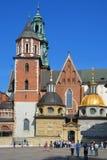 Wawel城堡 免版税库存照片