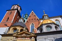 Wawel城堡 库存照片