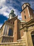 Wawel的,克拉科夫,波兰大教堂 免版税库存照片