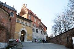 Wawel门 免版税库存照片