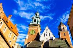 Wawel Στοκ φωτογραφίες με δικαίωμα ελεύθερης χρήσης