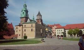 Wawel stock fotografie