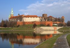 Wawel Castle Royalty Free Stock Images